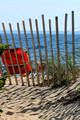 """The Red Chair"" - Bristol Beach, Falmouth, Cape Cod, MA"
