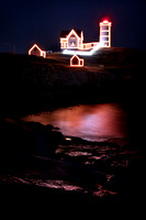 Nubble Light at Christmas 2016